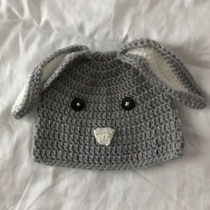 Other - Baby Crochet bunny hat